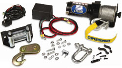 Box contents for Superwinch LT2000 winch