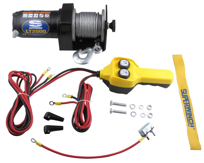 Amazon com: Superwinch LT2000 12V Utility Winch (2,000lb
