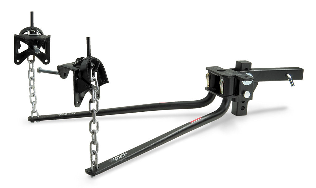 amazon com  eaz lift 48054 1400 pounds 1 400 lbs elite bent bar weight distributing hitch with