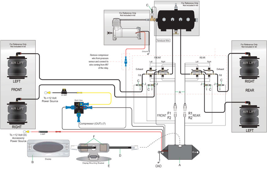 B Xy Og Lg on Air Suspension Dump Valve Diagram