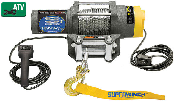 Amazon Com  Superwinch 1125220 Terra 25 2500lb Winch With