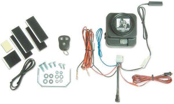 Amazon.com: Gorilla Automotive 8007 Motorcycle Alarm with ...