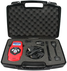 Roadi OT900 Oil Service and Airbag Reset Tool stored in included hard case