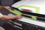Vehicle exterior repair process using 3M/Bondo Auto Body Filler