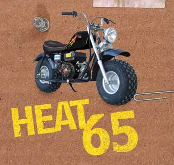 Baja Motorsports Ht65 Heat 65 Mini Bike Black