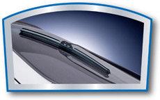 Contoured design of the Rain-X® Repel wiper blade