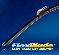 Silblade FlexBlade Silicone Wiper Blade with logo