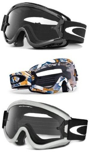 8280be095db1 Amazon.com  Oakley L-Frame Graphic Frame MX Goggles (Carbon Fiber ...