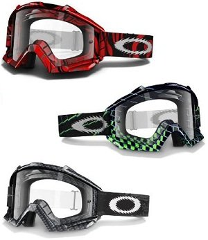 oakley over the glass goggles  proven mx goggles