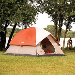 The Sundome tent sleeps up to 5 people comfortably. & Amazon.com : Coleman Sundome Tent (10-Feet x 10-Feet) : Family ...