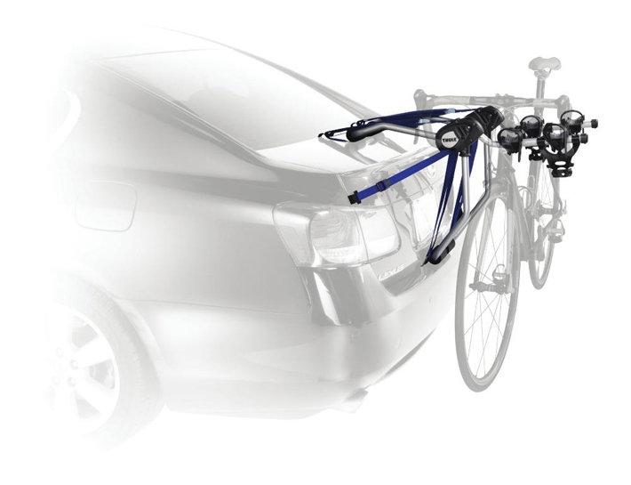 thule 961xt speedway 2 bike trunk rack. Black Bedroom Furniture Sets. Home Design Ideas