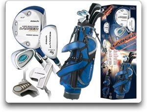 Amazon.com : Intech Lancer Junior Golf Set, (Right-Handed, Age 4 to 7, 17.5 degree Driver, 4/5