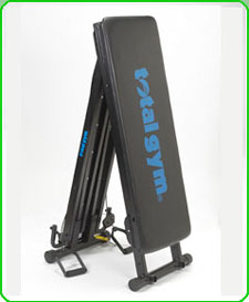 amazon com total gym 2000 home gym sports & outdoors total gym 1700 club at Total Gym Parts Diagram