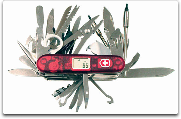 Victorinox Swiss Army Swisschamp Xavt Folding Knives