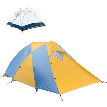 The Alpha 3-person tent with rainfly and vestibule.  sc 1 st  Amazon.com & Amazon.com : Sierra Designs Alpha 3-Person Four-Season Tent ...