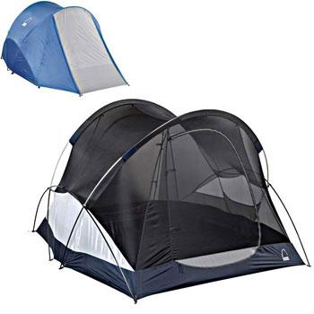 The Wu Hu 6-person tent with rainfly and vestibule.  sc 1 st  Amazon.com & Amazon.com : Sierra Designs Wu Hu 6 Six-Person Basecamp Tent ...