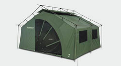 The tent offers a freestanding color-coded exoskeleton design that sets up in less than 10 minutes. & Amazon.com : Eureka Pine Lodge Tent : Family Tents : Sports u0026 Outdoors
