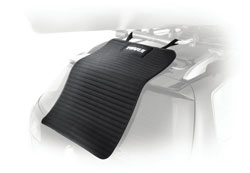Thule 854 Water Slide Kayak Carrier Accessory Mat showing universal straps
