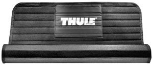 Thule 854 Water Slide Kayak Carrier Accessory Mat rolled up partially showing its non-skid underside
