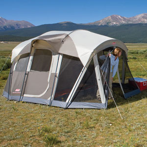 The WeatherMaster 4 includes a floorless screened room for meals or gear storage. & Amazon.com : Coleman WeatherMaster Screened 4 Tent : Sports u0026 Outdoors