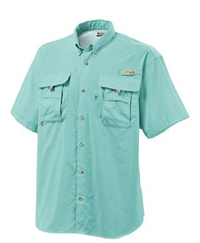 The Bahama II short-sleeve shirt includes mesh-lined cape vents at the  shoulder to enhance the airflow. 905ef66e59e