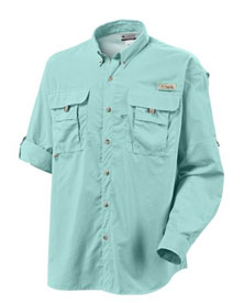 Columbia Men's PFG Bahama II Long Sleeve Shirt Sunlit X