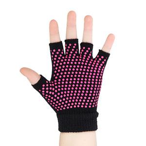 Amazon Com Gaiam Grippy Yoga Gloves Grey Exercise