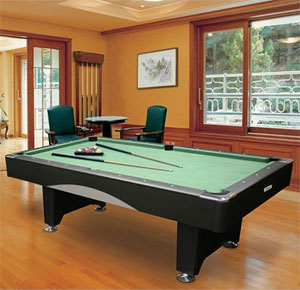 Amazoncom Minnesota Fats Saratoga Foot Billiard Table Package - Fats pool table