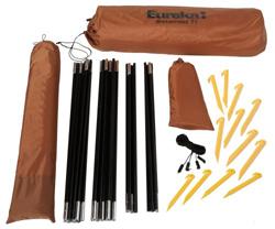 Eurekau0027s Bitterroot tent features shockcorded fiberglass poles for easy setup.  sc 1 st  Amazon.com & Amazon.com : Eureka! Bitterroot -Tent (sleeps 5-6) : Sports u0026 Outdoors