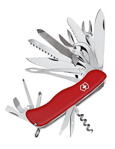 Victorinox Swiss Army Work Champ Xl Pocket Knife Amp Leather