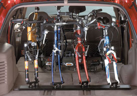 Saris Unique Mount Triple Track Fork Mount Bike Racks