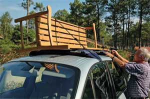 The Inflatable HandiRack Rooftop Rack Is Ideal For Drivers Who Donu0027t Want  To Install A Permanent Roof Rack.