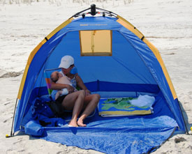 The InsTent shelter offers comfortable UV protection while you lounge on the beach. & Amazon.com: ABO Gear Instent Shelter: Sports u0026 Outdoors