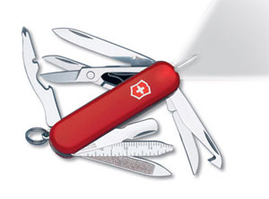 Amazon Com Victorinox Swiss Army Midnite Minichamp Red
