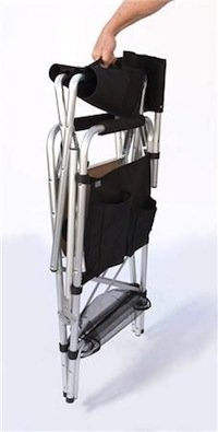 Good This Sturdy, Comfortable Chair Folds Flat For Easy Storage And Transport.