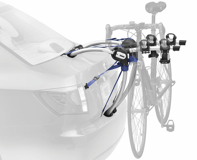 Amazon Com Thule 9006 Gateway Rear Mounted 2 Bike Rack
