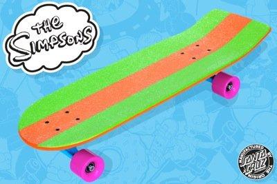 Amazon Com Santa Cruz Simpsons Bart Model Cruzer Skateboard 8 9 X 27 Inch Longboard Skateboards Sports Outdoors