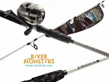 Amazon.com : River Monsters Catfish Spin Combo : Spinning