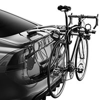 Thule 9006XT Gateway 2-Bike Carrier mounted with bike