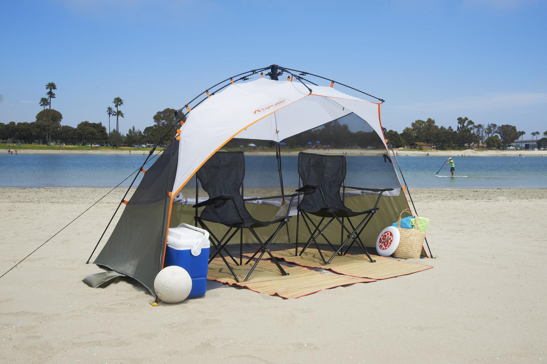 Amazon Com Lightspeed Outdoors Pop Up Sport Shelter Beach