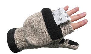 Amazon.com : Heat Factory Fleece-Lined Ragg Wool Gloves