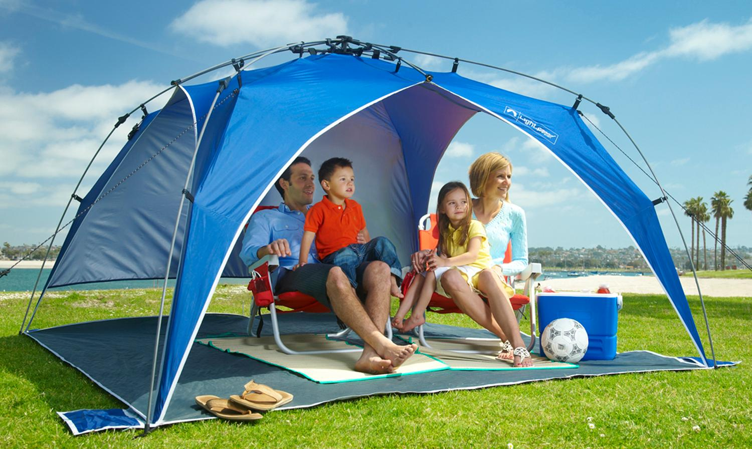 Amazon Com Lightspeed Outdoors Quick Beach Canopy Tent