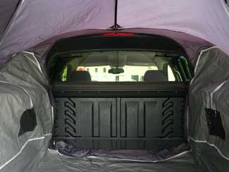 A rear access door lets you enter the trucku0027s cab through the tent. & Amazon.com: Sportz Avalanche Truck Tent III: Sports u0026 Outdoors
