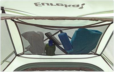 Keep things tidy with the tentu0027s gear loft. & Amazon.com : Eureka! Scenic Pass 2XT - Tent (sleeps 2) : Family ...