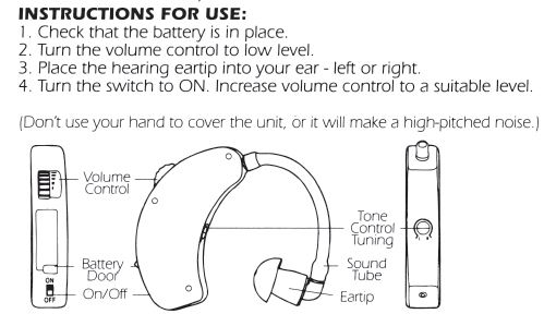 Amazon walkers game ear ultra ear behind the ear hearing features details ccuart Image collections