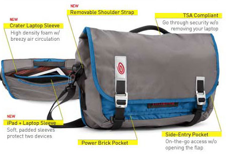 Command Messenger Bag Features