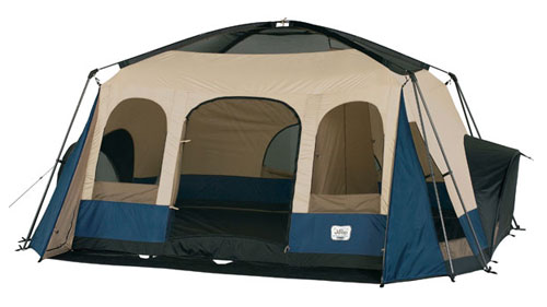 Itu0027s fully of homey features to keep everything neat including two closets and a gear loft for storage. And its color-coded fiberglass frame makes set-up ...  sc 1 st  Amazon.com & Amazon.com : Jeep 14x12 8-Person Family Dome Tent : Sports u0026 Outdoors