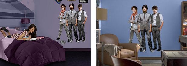 Amazon Com Fathead Jonas Brothers Wall Decal Sports