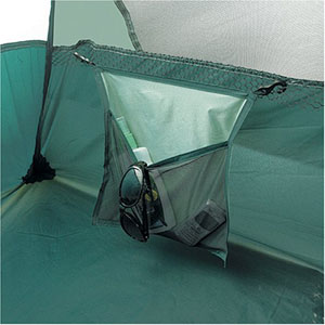 An attached hinged gear loft and two interior storage pockets offer extra places to stash your gear. & Amazon.com : Eureka! Tetragon 1610 - Tent (sleeps 9) : Family ...