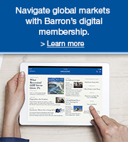 Outsmart the market with Barron's digital membership. Only $12 for 12 weeks. Learn more